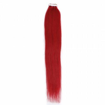 Цвят: червен. Коса на стикери