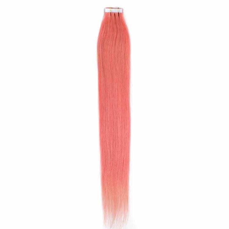 Цвят: розов. Коса на стикери