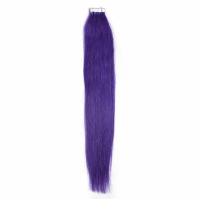 Цвят: лилав. Коса на стикери