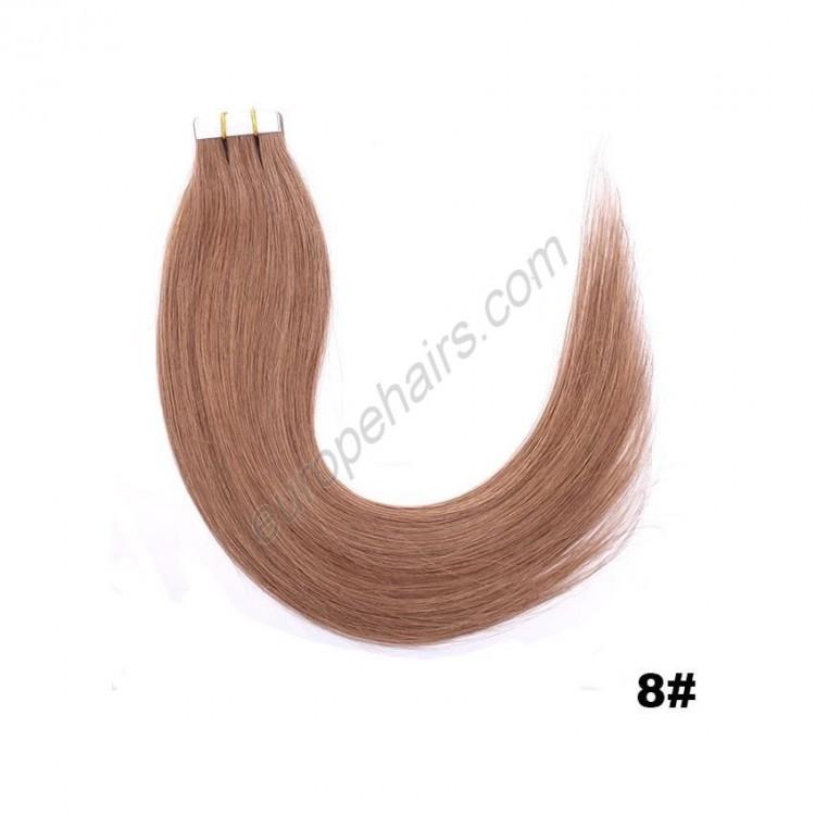 8. Коса на стикери